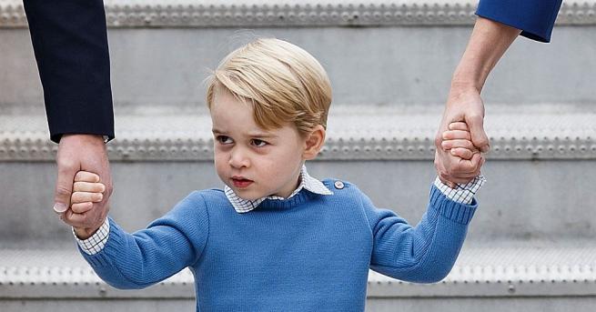 ПринцДжорджАлександърЛуие първородният син на херцозите на КеймбриджУилямиКатрин. Роден е на
