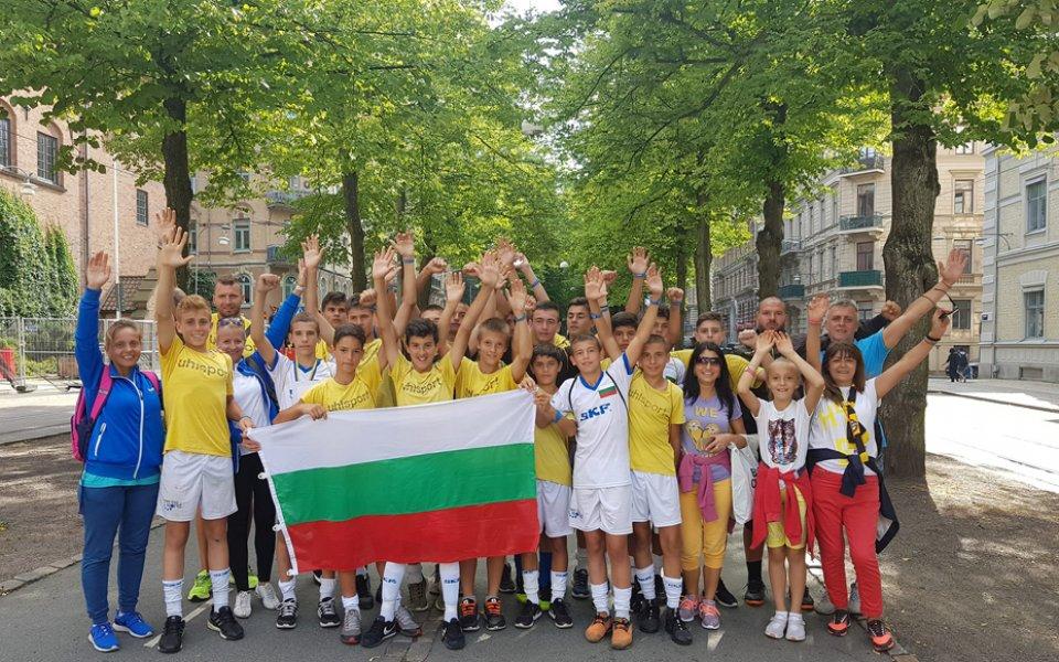 Децата на Ботев Пд на финал в Швеция