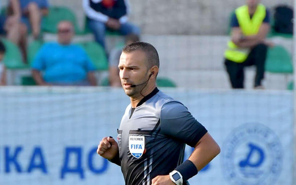Ивайло Стоянов ще ръководи дербито Ботев Ихтиман - Миньор