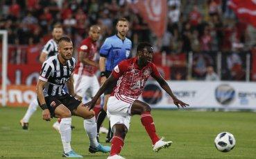 НА ЖИВО: Новата бразилска перла на ЦСКА откри срещу Локо Пд