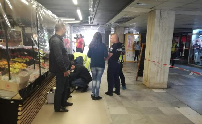 Стрелба в София: Мъж простреля друг пред магазин