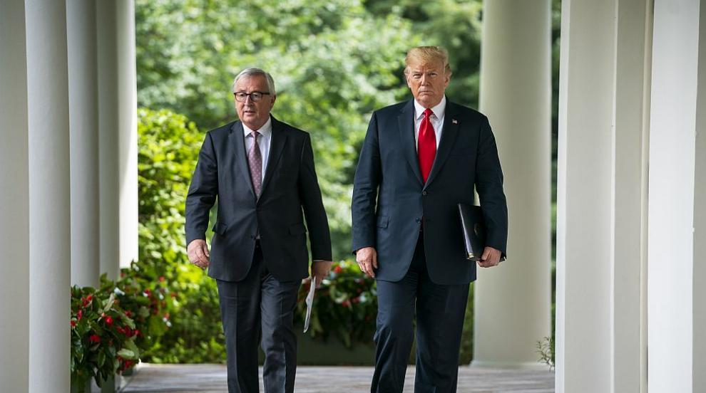 Тръмп и Юнкер се споразумяха за преодоляване на търговския конфликт