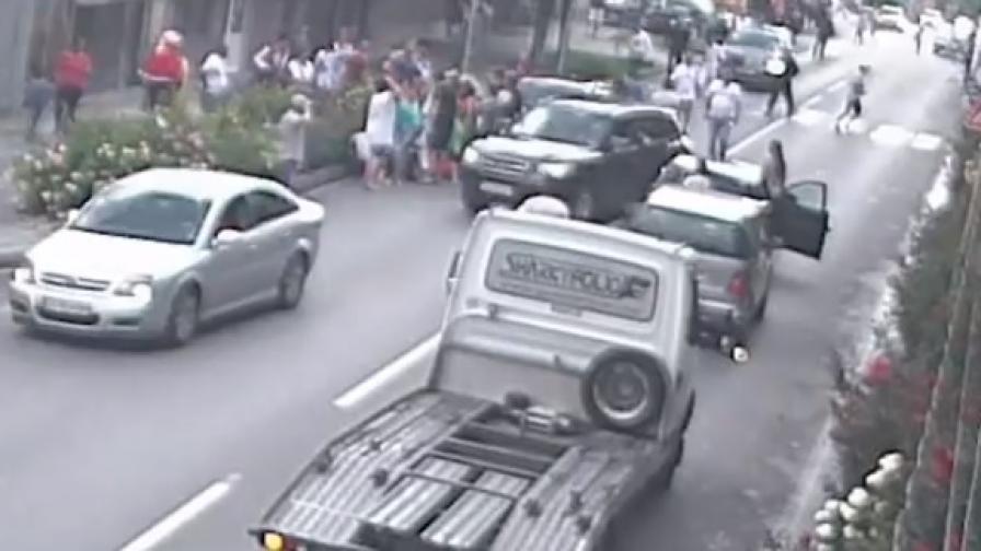 И пак: Шофьор блъсна дете на пешеходна пътека