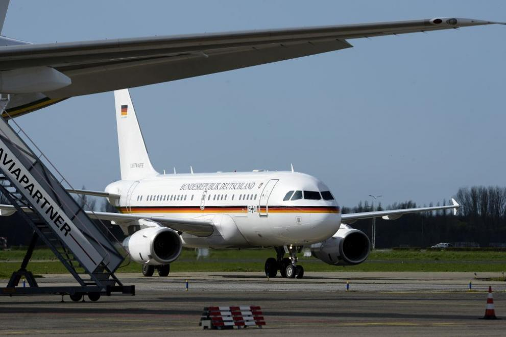 Самолетът, който сега използва канцлерът на Германия