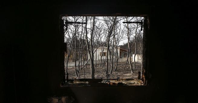 Гръцките власти съобщиха, че броят на жертвите от опустошителния пожар