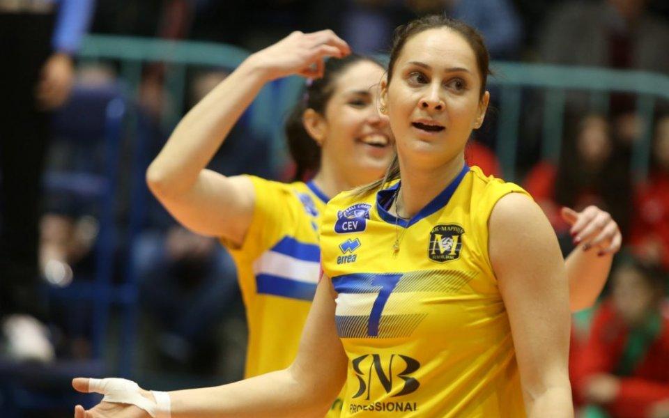 Деси Николова смени Марица със силен турски тим