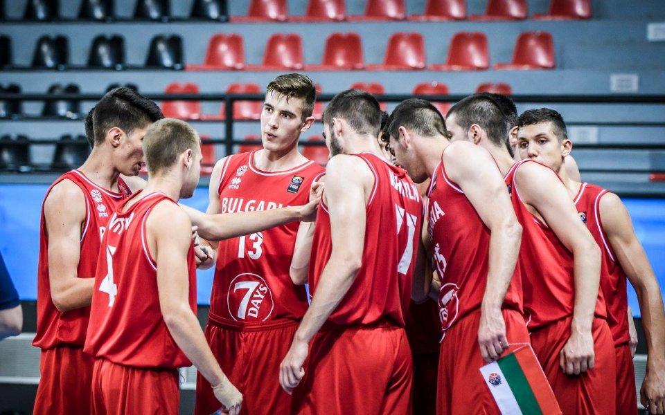 Гърция и Арис съперници на националите по баскетбол до 17 г.