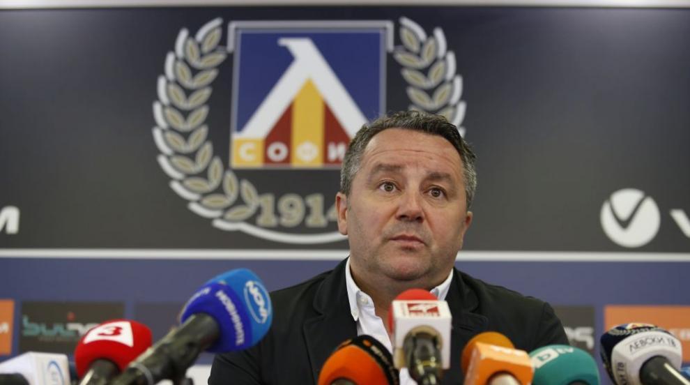 Славиша Стоянович вече започна работа с отбора на Левски (ВИДЕО)