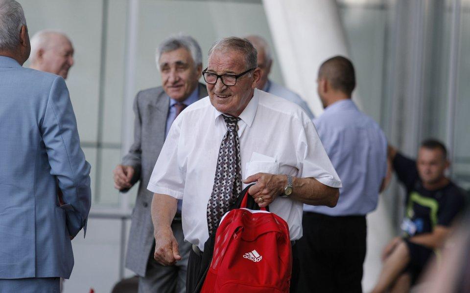 Заминаването на ЦСКА за Австрия в снимки