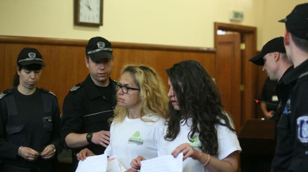 Съдът пусна Десислава Иванчева и Биляна Петрова под домашен арест