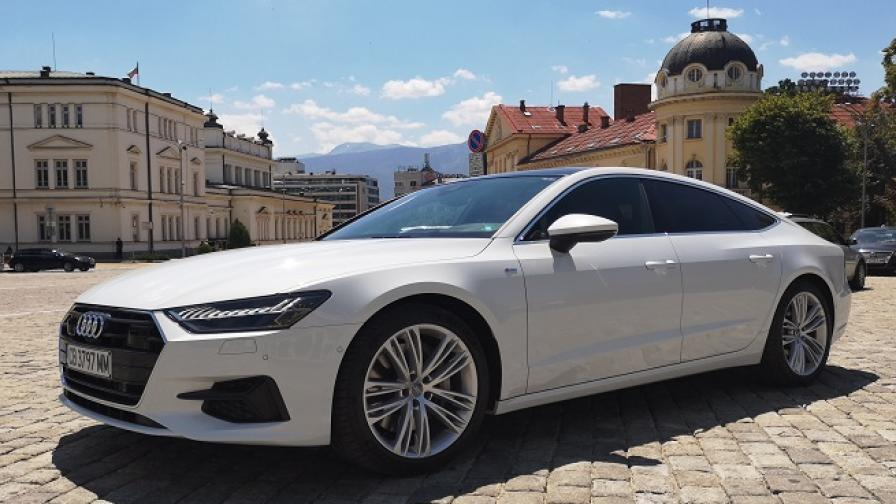 A7 55 TFSI е най-красивото Audi (тест драйв)
