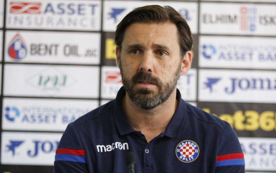 Треньорът на Хайдук: Тренирахме дузпи преди реванша