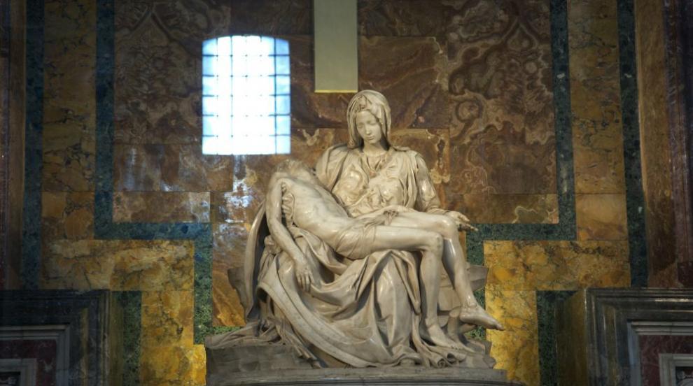 """Защо Микеланджело подписва единствено своята """"Пиета""""? (СНИМКИ)"""