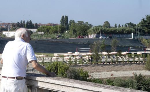 Рим плаж Тибър