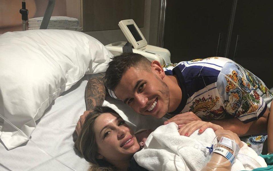 Футболист на Атлетико Мадрид стана баща