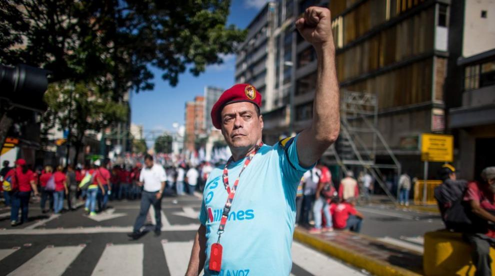 Многохиляден митинг в Каракас в подкрепа на президента Мадуро (ВИДЕО)