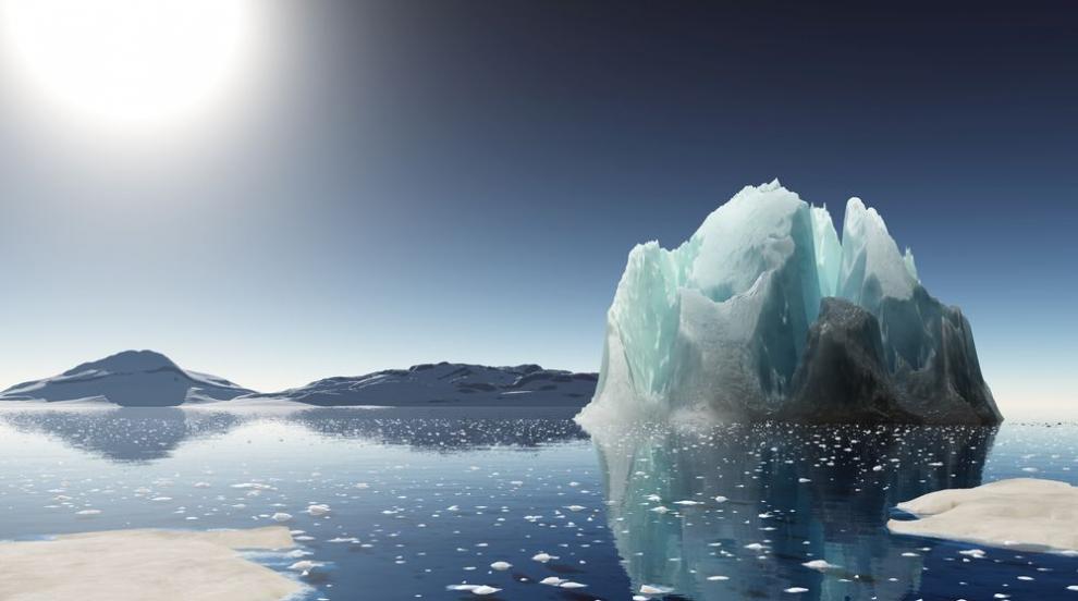 Откриха радиоактивен източник на топлина под Антарктида
