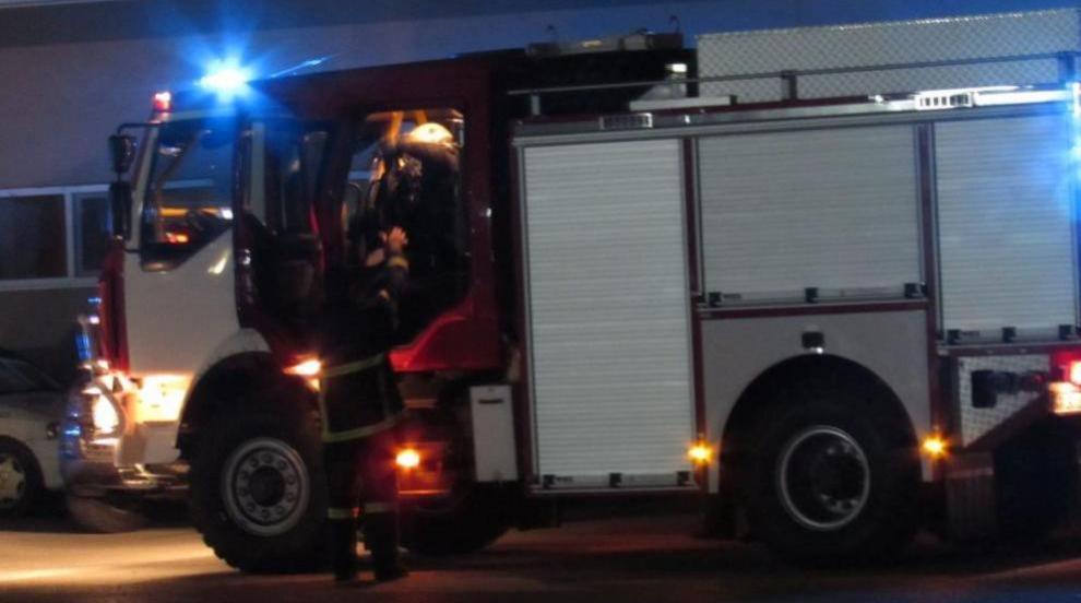 Голям пожар гори над Карлово