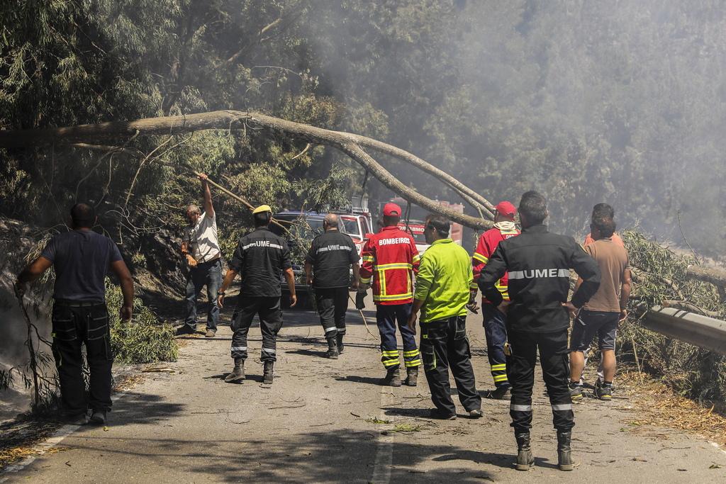 Досега са ранени 29 души, а много сгради, разположени на горящите хълмове, са били унищожени.