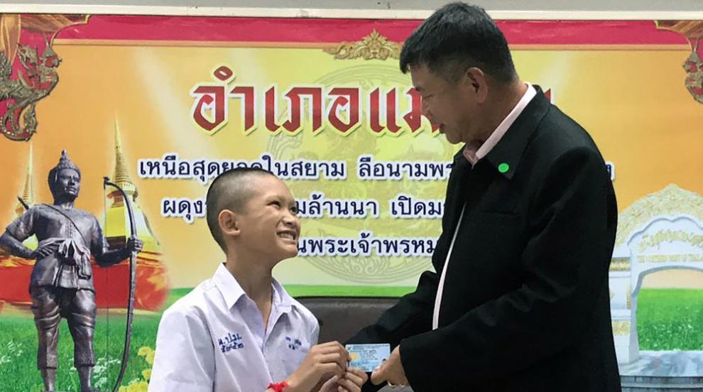 Спасени от пещерата в Тайланд получиха гражданство