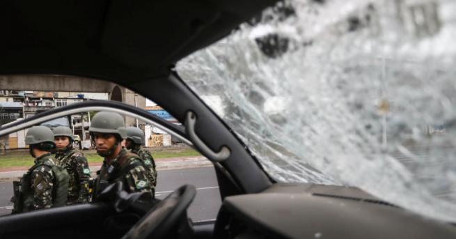Рекордните 63 880 души са били убити в Бразилия миналата