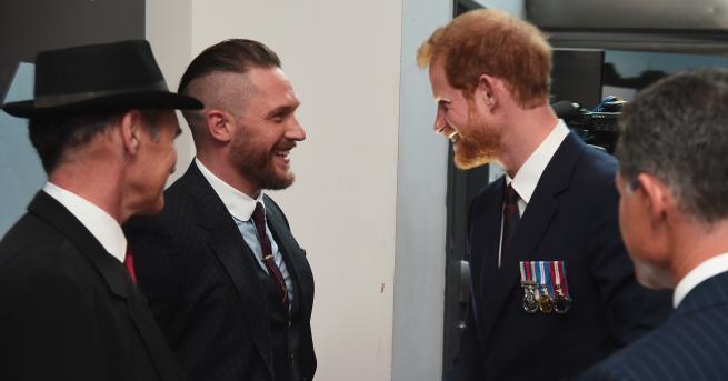Тази година британският актьор беше сред гостите на сватбата на