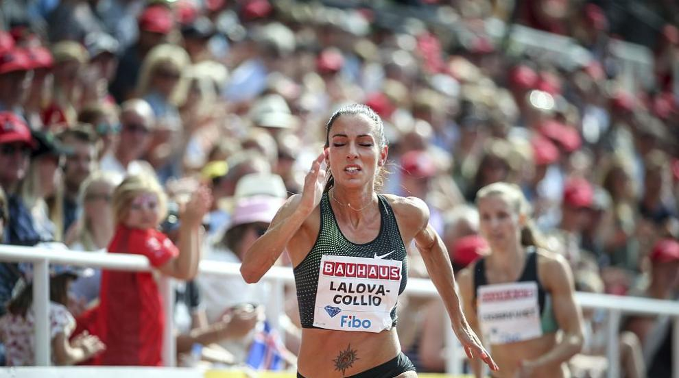 Ивет Лалова прелетя до финала на 200 м на Европейското