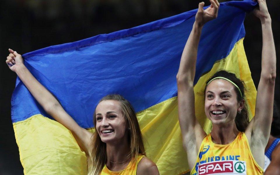 Титла за Украйна на 800 метра