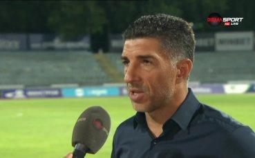Орачев: Ако не удържаш на напрежение, не играеш в Първа лига