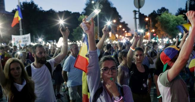 Демонстранти излязоха по улиците на Букурещ и други големи румънски