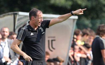 Алегри потвърди: Ювентус се цели в Шампионската лига