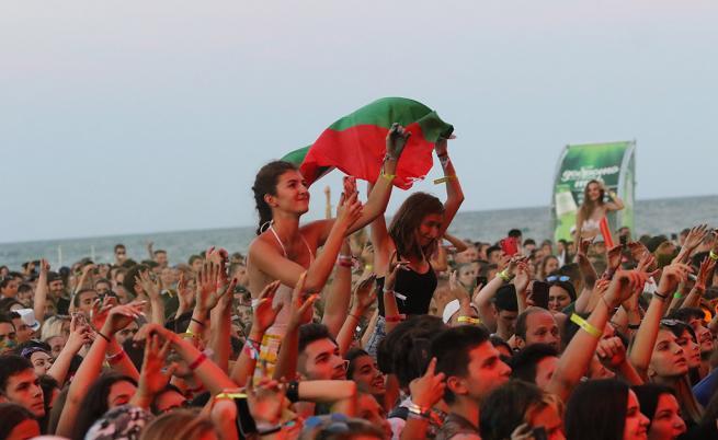 MTV разтърси Варна: 20 000 души от цял свят се събраха на морския бряг