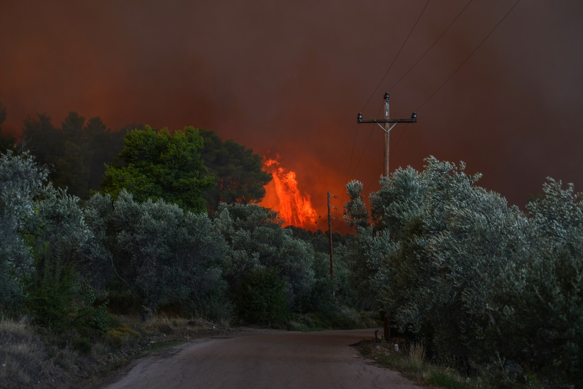 В неделя избухнаха силни пожари в Контодеспоти и Ставрос