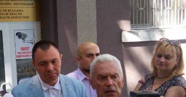 Лидерът на Атака Волен Сидеров, който вчера в присъствието на