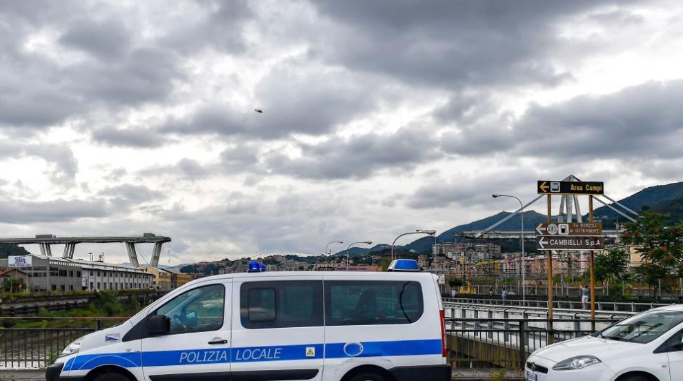 Траур в Генуа след трагедията на моста