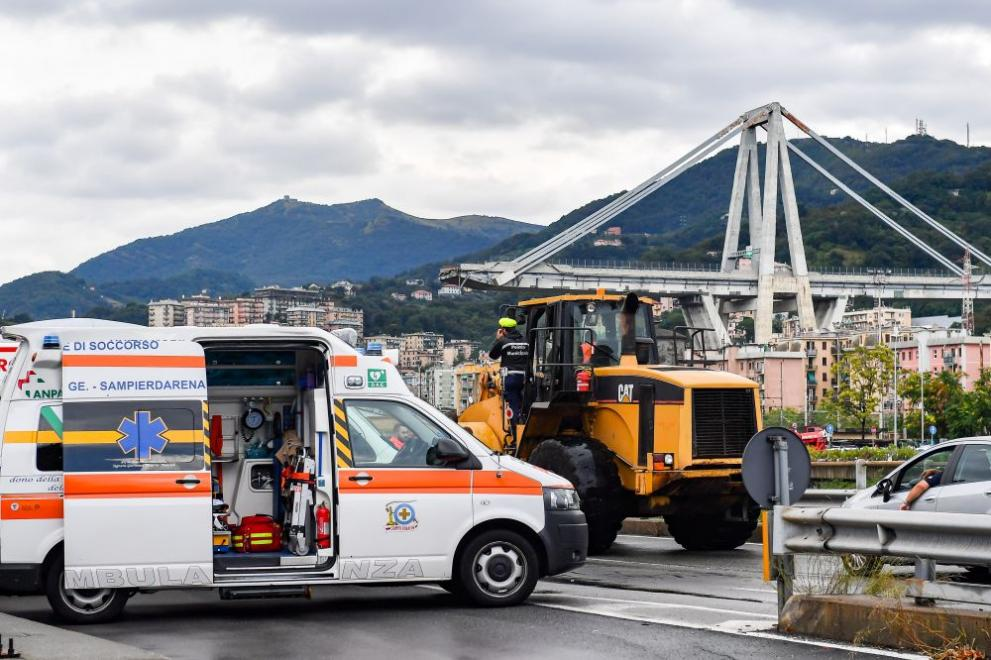 Генуа мост трагедия
