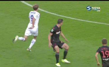 Лийдс Юнайтед - Болтън 2:0 /първо полувреме/
