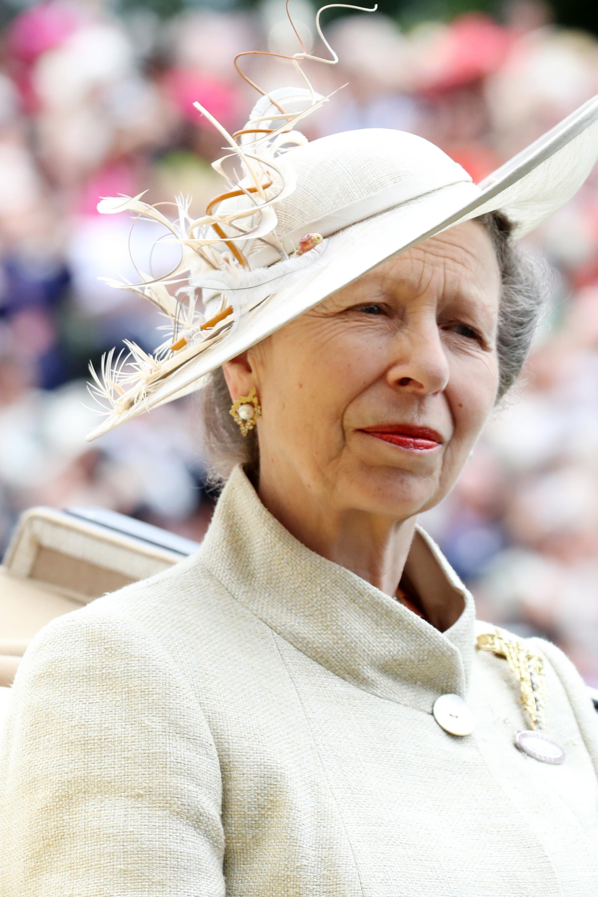 Принцеса Ан е дъщерята на кралица Елизабет II