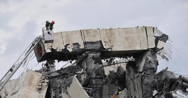 Компанията оператор на италианския мост, който рухна на 14 август,