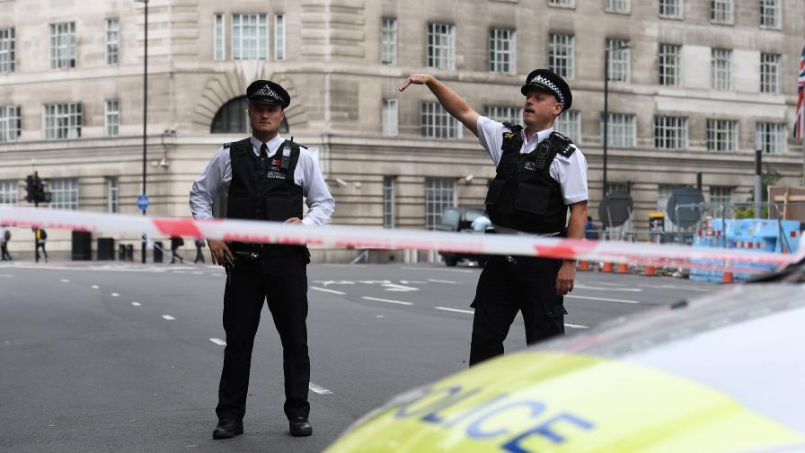 Задържан е мъж за терора в Лондон