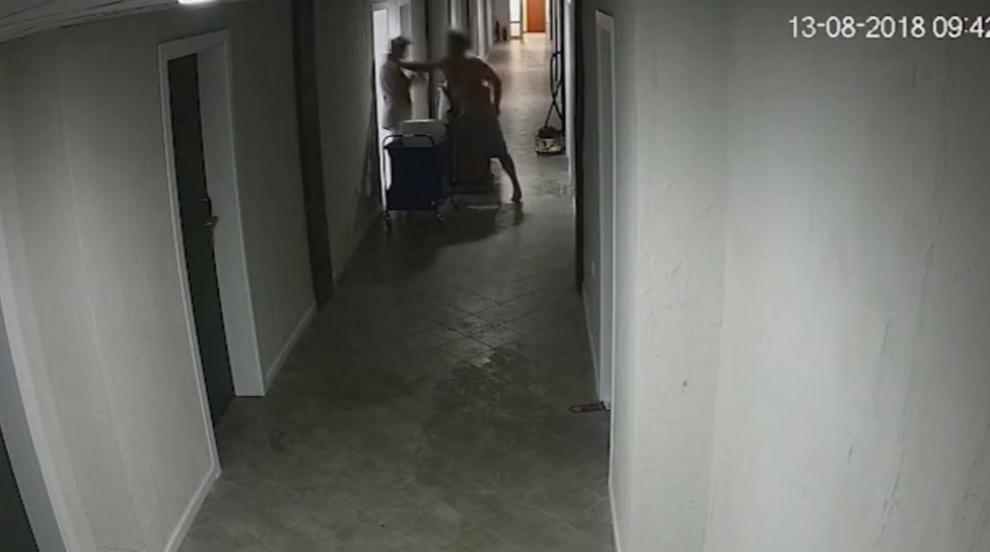 """Австрийски турист нападна камериерка в """"Златни пясъци"""" (ВИДЕО)"""