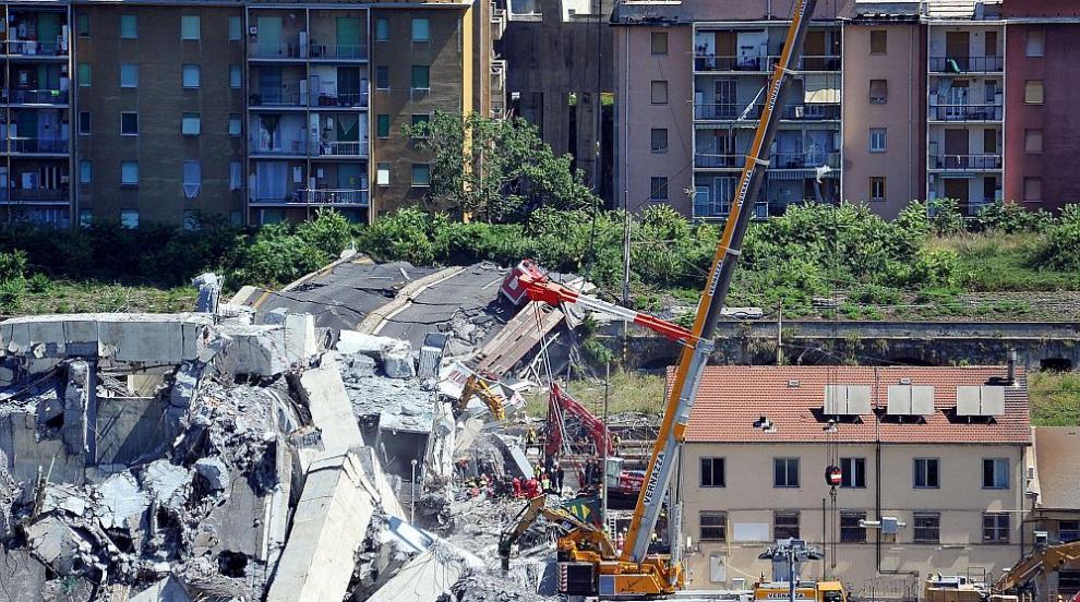 Траур в Италия в памет на жертвите в Генуа
