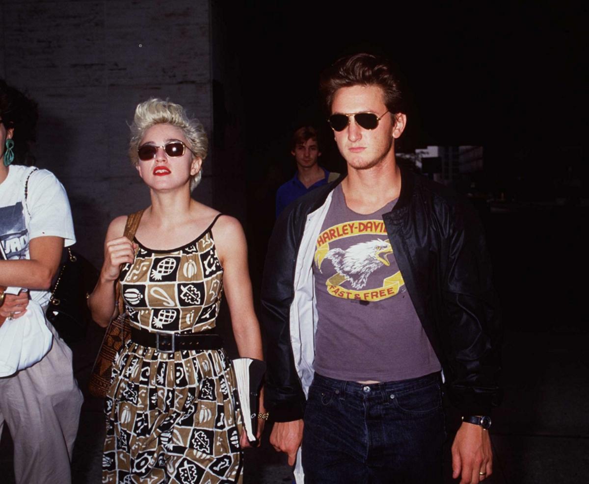 Мадона с първия си съпруг - Шон Пен.
