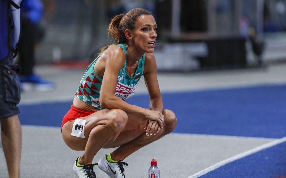 Една от най-добрите български атлетки в лицето на Ивет Лалова