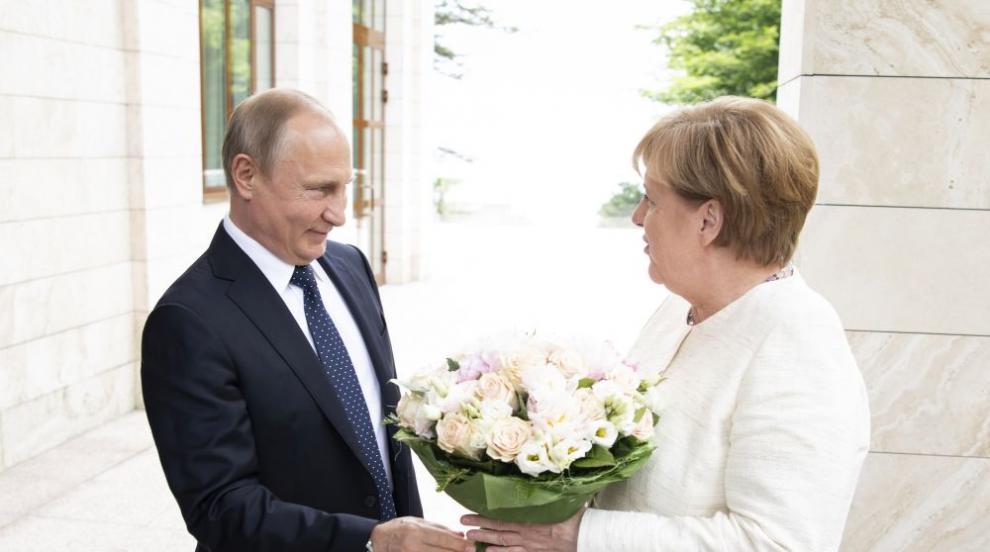 Меркел и Путин се срещат край Берлин