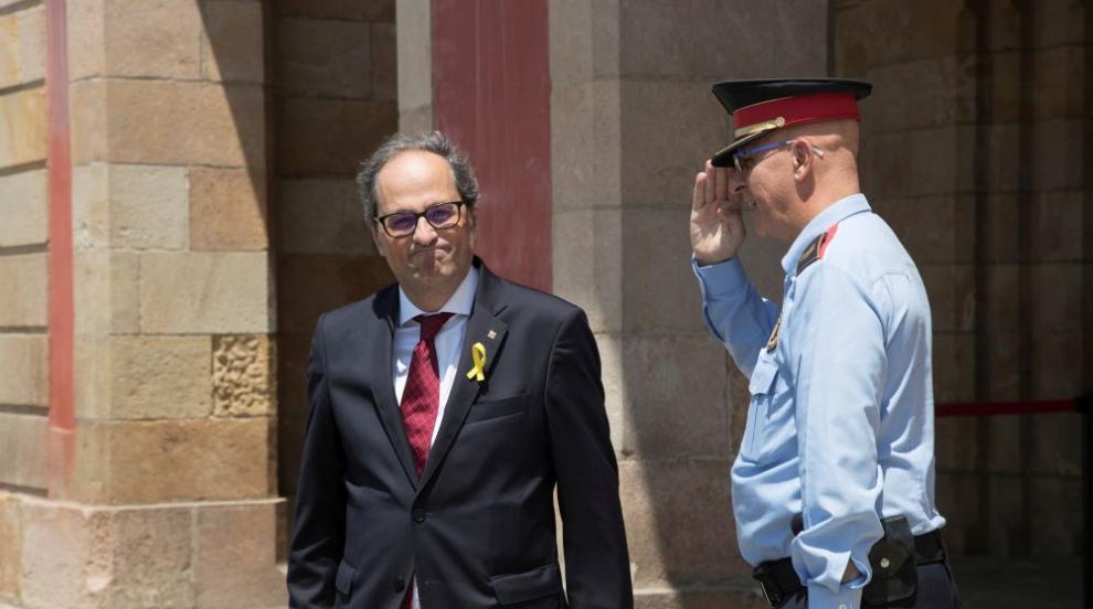 Каталунският лидер обеща да атакува испанската държава