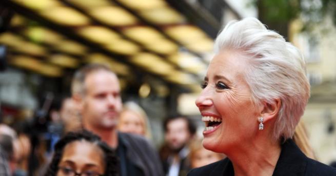 59-годишната британска актриса Ема Томпсънпризова шоубизнеса за повече роли, в