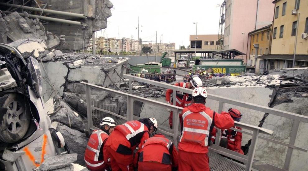 Нови жертви на рухналия мост в Генуа