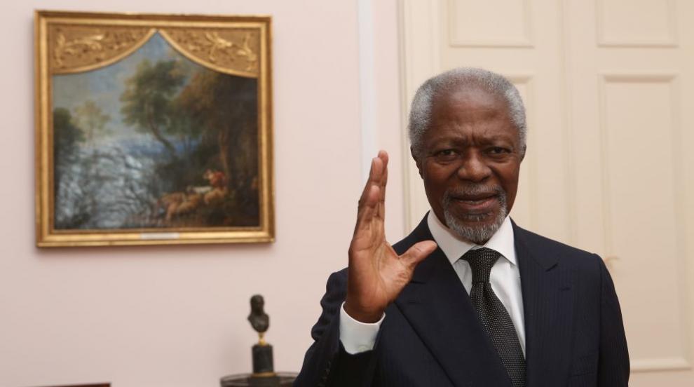 На 80 години от този свят си отиде Кофи Анан