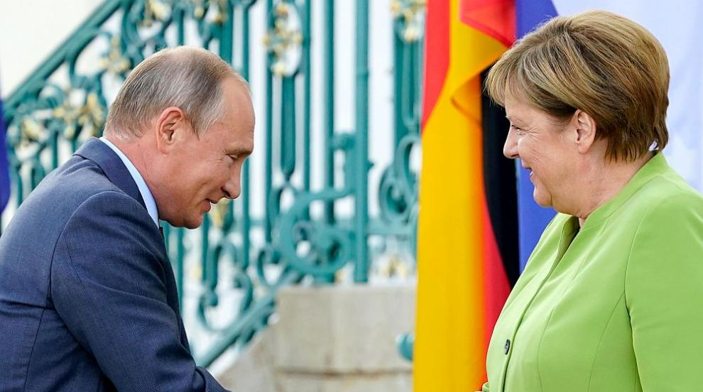 Ключова среща - какво важно се договориха Путин и Меркел